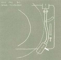 Sketch for a turntable, Dieter Rams (Braun), 1962