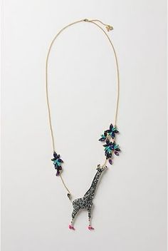 """anthropologie necklace 