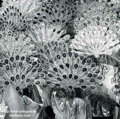 Escola de samba do Salgueiro - 1975 - foto Sebastião Marinho