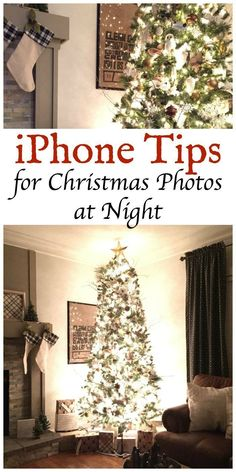iPhone Tips for Christmas Photos at Night that are easy for any one to do.