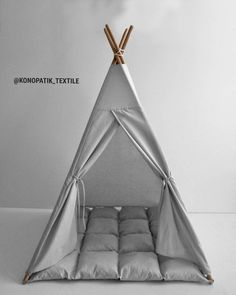 Diy Teepee, Kids Teepee Tent, Teepees, Play Tents For Kids, Baby Tent, Tent Canopy, Childrens Teepee, Wooden Poles, Baby Safety