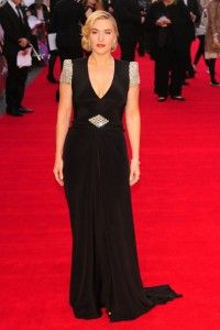 """Kate Winslet is lovely in this Jenny Packham gown at the premiere of """"Titanic 3D."""""""