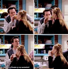 Friends Episodes, Friends Moments, Friends Series, Friends Tv Show, Friends Forever, Best Tv Shows, Best Shows Ever, Joey And Phoebe, Friend Jokes