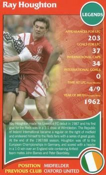 2007 Top Trumps Specials Liverpool #NNO Ray Houghton Front