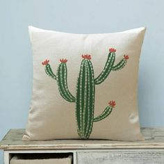 Sewing Pillows SMAVIA New Hot Sale Tropical Cactus Cotton Pillow Cover Decorative Couch Throw Pillowcase Chair Beautify Home Pillowcase - Style: Plain Feature: Waterproof,Eco-Friendly,Non-Toxic Sewing Pillows, Diy Pillows, How To Make Pillows, Linen Pillows, Cotton Pillow, Custom Pillows, Throw Pillows, Decorative Pillow Cases, Decorative Cushions