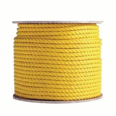 Boen Yellow Poly ropes 3/8''X100'