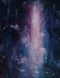 Rune of Icejoy 11 x 14 inches original oil on canvas abstract painting. on Etsy, $184.01