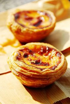 Portugese brulee tarts. Tried these in Lissabon, they are GOOD!