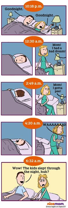Meet a husband who's about to get punched at 6:32 a.m.