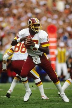 Super Bowl: Power Ranking the 10 Most Unlikely MVPs in History Football Season, Football Team, Football Helmets, Nfl History, Black History, Doug Williams, Black Fitness, Professional Football, Washington Redskins