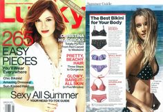 #AsSeenIn- #Wanderlust #Bikini - #ONeillGirls #LuckyMagazine #Fashion #summer