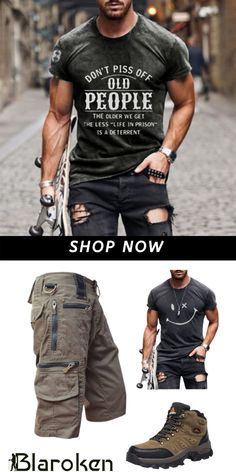 Mens Tactical Pants, Tactical Wear, Casual Ootd, Casual Outfits, Mens Fashion Suits, Mens Suits, Wedding Suits, Vintage Shirts, Women Swimsuits