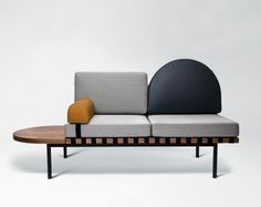 The Design Walker • Grid daybed by Pool for Petite Friture: Small...