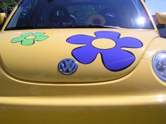 1000+ images about VW Flower Power on Pinterest | Flower power, Vw bus and Vw beetles
