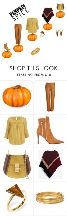 """""""Sin título #9"""" by bv-b ❤ liked on Polyvore featuring Improvements, Joseph, Cesare Paciotti, Chloé, White House Black Market, Ona Chan, Bold Elements and Theodora Warre"""