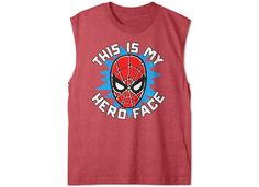 Marvel Little Boys' Spider-Man Graphic-Print Tank Top - All Characters - Kids & Baby - Macy's