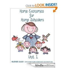 Home Economics for homeschoolers- Kindle book