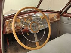 1941 Buick Special Steering Wheel View