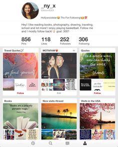 Go follow her. Help her reach 300 followers.