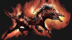 Guard Dog from Bloodborne