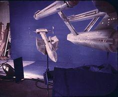 Star Trek Prop, Costume & Auction Authority: The U.S.S. Enterprise Star Trek Original Series 11 Foot Filming Model On Display At The Smithsonian