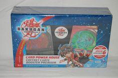 Bakugan Battle Brawlers Ventus New Vestroia Card Power House NIP 2008 Rare  #SpinMaster