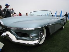 1951 Buick LeSabre at Pebble Beach ~ courtesy of ZipQuote.com
