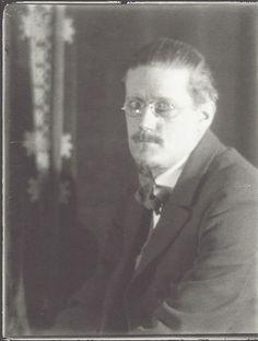 Man Ray- James Joyce, Paris, 1922