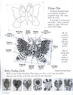 Image detail for -Zentangle helps reduce stress and improve focus. This relaxing ...