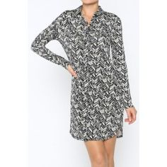 http://www.salediem.com/shop-by-size/small/shirt-dress-with-button-down-closure.html #salediem #fashion #women'sfashion #tblackandwhite #lplus