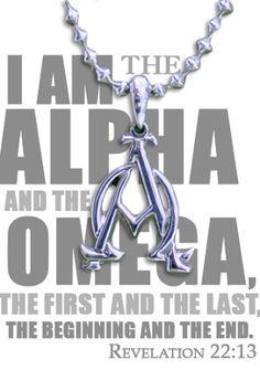 Alpha Omega Necklace