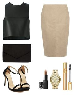 """""""#OOTD """" by itcarlota ❤ liked on Polyvore featuring Dorothy Perkins, Fendi, NARS Cosmetics, Marc by Marc Jacobs and Yves Saint Laurent"""