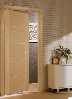 Vancouver Oak Internal Door & Oak Panel and Oak Ready to Glaze Internal Doors Online UK Oak ...