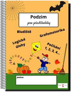 40 stran obrázkových pracovních listů s podzimní tematikou + bonusové obrázky k vystřižení