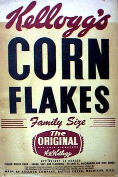 Corn Flakes are DELICIOUS!!!!!!