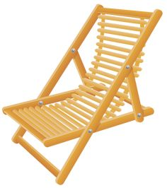 Wooden_Beach_Chair_Transparent_PNG_Clip_Art_Image.png (532×600)