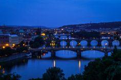 Photograph A late spring evening @ Prague by Prakash Shankaran on Prague, Marina Bay Sands, Bridges, Photograph, River, Spring, Building, Inspiration, Photography