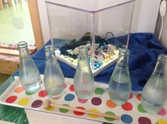 Pedagogiska miljöer - Små barns lärande Reggio Emilia, Lava Lamp, Montessori, Water Bottle, Drinks, Experiment, Inspiration, Content, Tips
