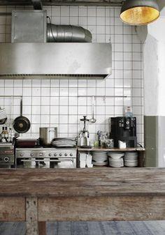Inspiring industrial kitchen