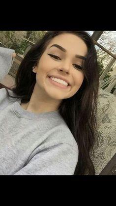 likes pretty selfies, maggie lindemann, skin makeup, beauty makeup, h Maggie Lindemann, Beauty Makeup, Eye Makeup, Hair Makeup, Hair Beauty, Pretty People, Beautiful People, Beautiful Flowers, Perfect Lipstick