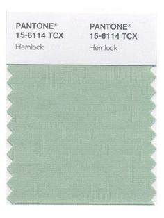 Hemlock green is one of Pantone's chosen colours for their Spring palette 2014. Description from lifeincmykblog.wordpress.com. I searched for this on bing.com/images
