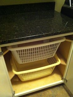 i love my new folding table and laundry basket storage cabinet thank you pinterest - Laundry Folding Table