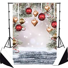 Background Photo Studio Andoer 1.5*2m Photography Background Backdrop Snow Street Snowman Pattern For Children Kids Baby Photo Studio Portrait Shooting We Take Customers As Our Gods
