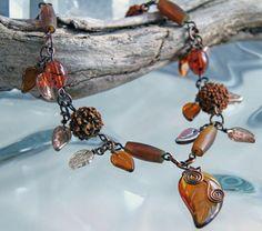 Farb-und Stilberatung mit www.farben-reich.com Wood Fairie Necklace by pbenson4 on Etsy, $65.00