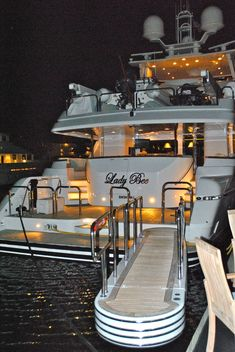 The luxury charter yacht, LADY BEE - welcome aboard! ASPEN CREEK TRAVEL - karen@aspencreektravel.com