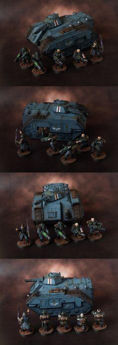 Astra Militarum (Imperial Guard) command squad