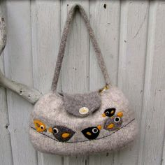 felted felting bags