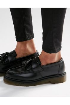 Dr. Martens Adrian Leather Tassel Loafer Flat Shoes