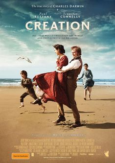 Creation - A great film about Charles Darwin starring Paul Bettany and Jennifer Connelly. Charles Darwin, Love Movie, Movie Tv, Movies Showing, Movies And Tv Shows, Creation Movie, Period Drama Movies, Cinema Posters, Movie Posters