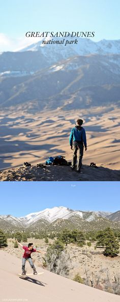 Great Sand Dunes National Park Colorado USA - home of the tallest sand dunes in North America // localadventurer.com